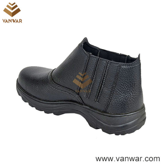 Long Wearing Mesh Lining Military Working Boots in Goodyear Welt Construction (WWB068)