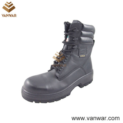 Military Full Grain Leather Army Combat Boots (WCB045)