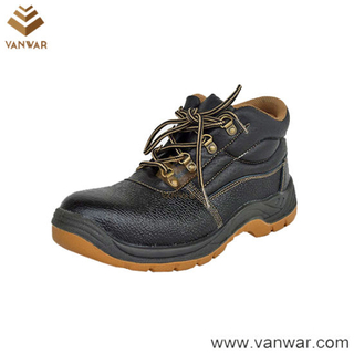 Comfortable Leather Military Working Safety Boots (WWB046)