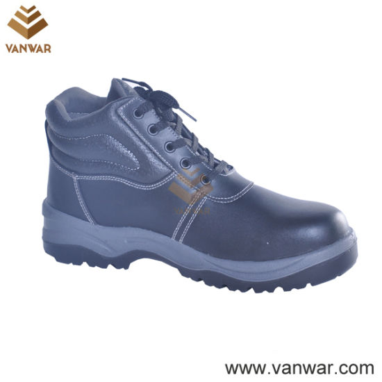 Antistatic Military Working Safety Boots with Steel Plate (WWB058)