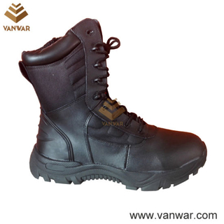 Athletic Cemented Tactical Military Boots of Black (WTB031)