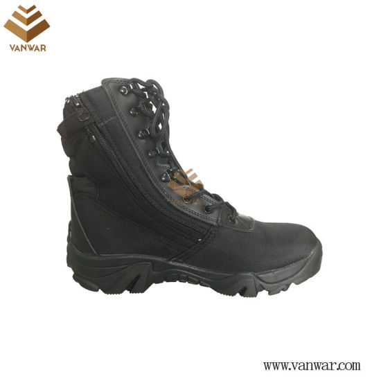 Black Military Working Boots with High Quality (WWB060)