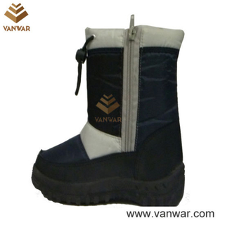 Cheap Injected Children Snow Boots with PVC Outsole (WSIB038)