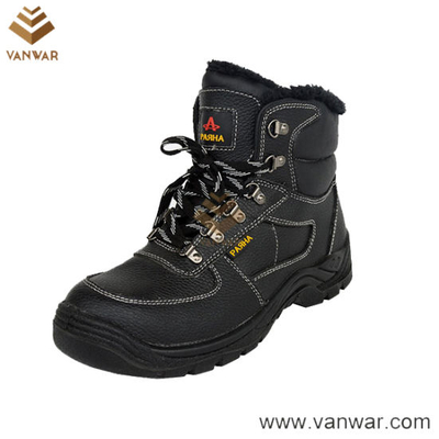 EVA Military Working Safety Boots of Embossed Cow Leather (WWB048)