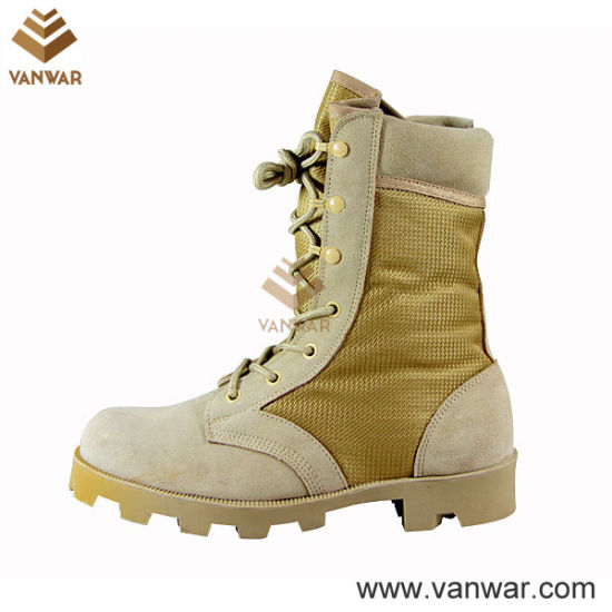 Athletic Cement Desert Military Boots with Speedhooks (WDB029)