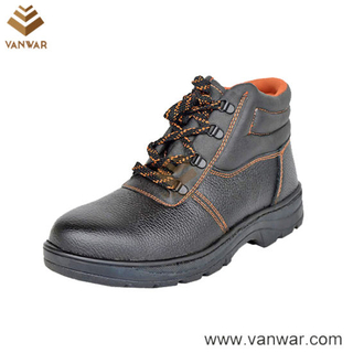 Steel Plate High Quality Military Working Boots (WWB063)