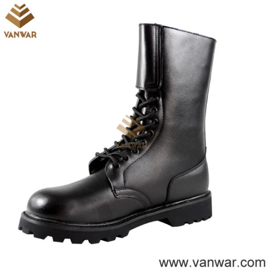 Goodyear Welt Long Wearing Military Combat Boots (WCB037)