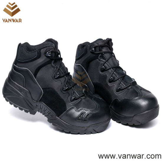 Suede Breathable Training Military Boots (WTR008)