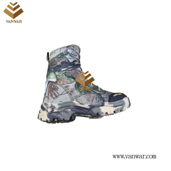Military Camouflage Boots with High Quality Insoles (WDB063)