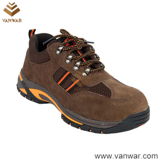 Suede Cow Leather Anti-Slip Military Working Boots (WWB064)