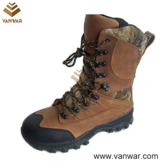 Camo Occupational Brown Military Hunting Boots (WHB004)