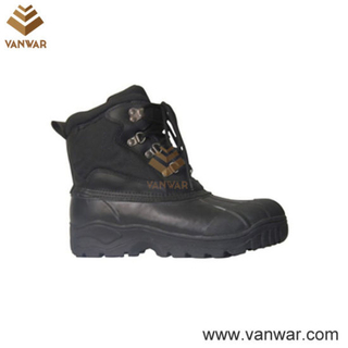 Canadian Waterproof Leather Military Snow Women Boots (WSB009)