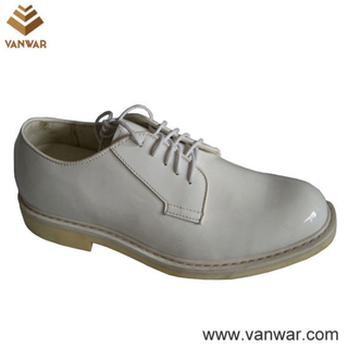 White Military Officer Shoes of High Quality (WMS011)