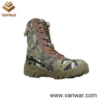 New Style Camouflage Military Combat Boots (CMB013)