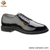 Leather Military Officer Shoes for Soliders and Police (WMS004)