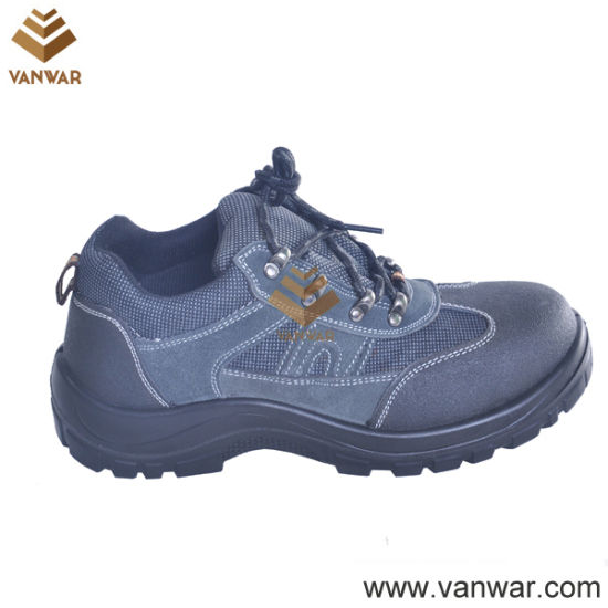 Acid&Alkali Resistant Cow Leather Working Safety Shoes (WSS005)