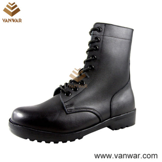Full Leather Army Military Combat Boots of Anti-Slip Outsole