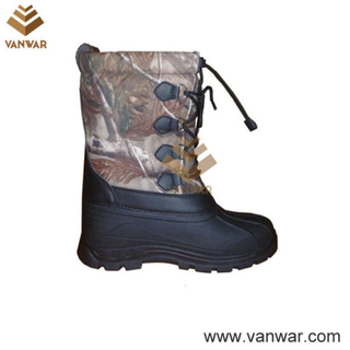 Fashionable Stiched Snow Boots with Warm Lining (WSB035)
