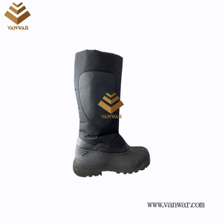 Classic Black Snow Boots with high quality (WSCB046)