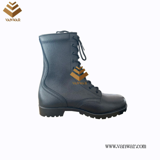 Combat Military Leather Boots of Black with High Quality (WCB073)