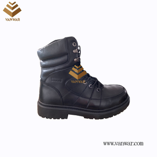 Military Combat Boots of Black with High Quality (WCB070)