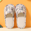 Indoor slippers for children in rural style with high quality(wsp025)