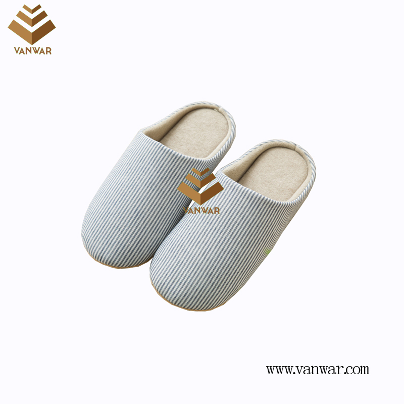 Customize Indoor Cotton lovely design Slippers with High Quality (wis023)