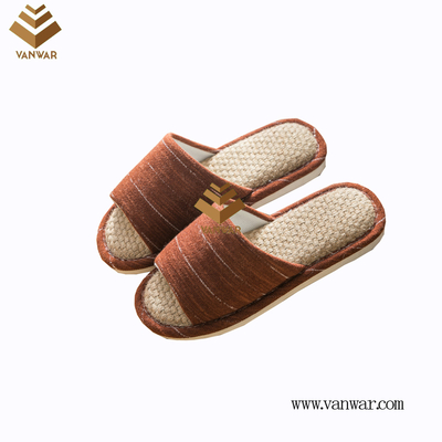 Customize Indoor Cotton winter home Slippers with High Quality (wis104)