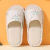 Indoor slippers for children in rural style with high quality(wsp026)
