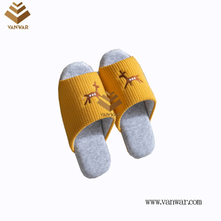 Customize Indoor Cotton winter home Slippers with High Quality (wis111)