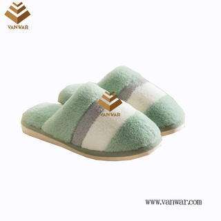 Customize Indoor Cotton lovely design Slippers with High Quality (wis038)