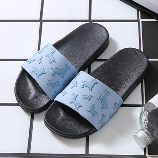 PVC slippers non-slip indoor home slippers with high quality(wsp004)